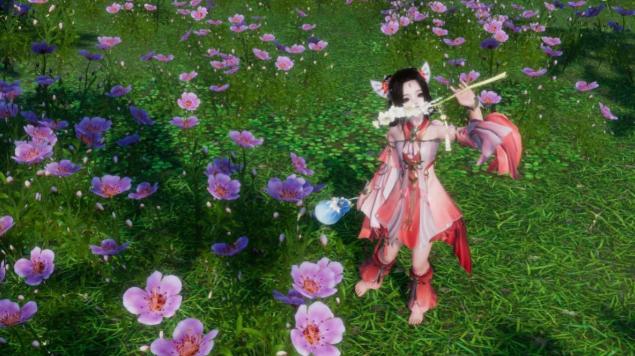 剑网3游戏里的美女