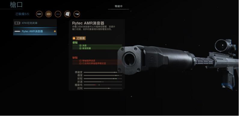 枪口细节展示