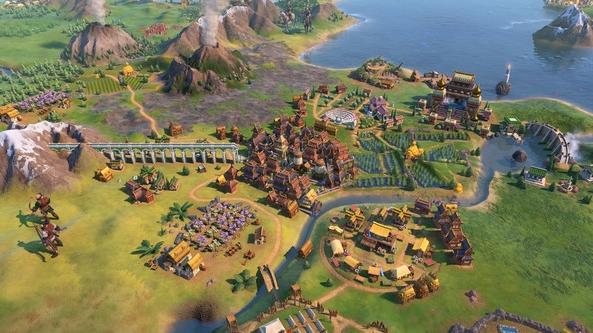文明6地图