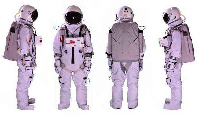 宇航服穿戴展示