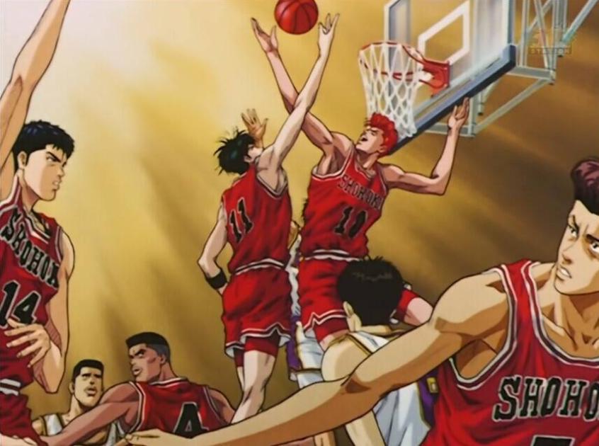 流川枫抢篮板