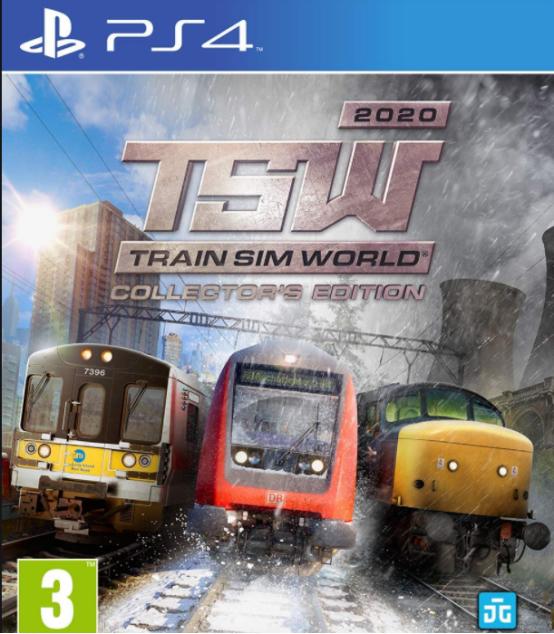 模拟火车游戏海报