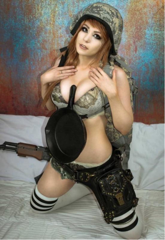 小姐姐cosplay绝地求生2