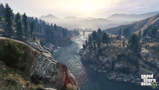 游戏俯视山水图