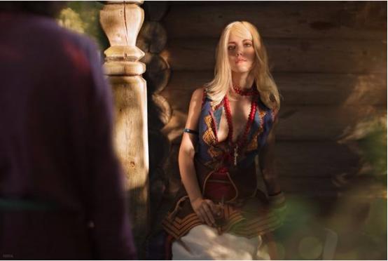 巫师3女主角