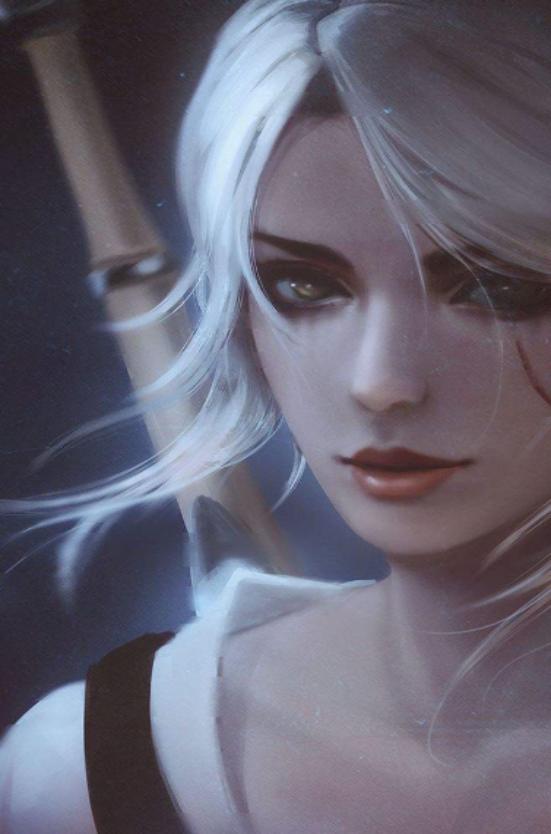 巫师3女主角美照