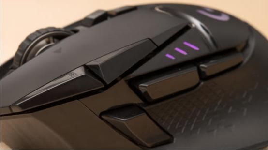 游戏鼠标推荐Logitech的G502 Lightspeed