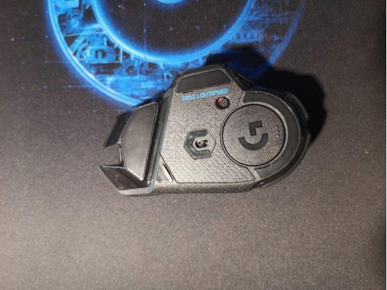 罗技G502 Lightspeed仰视图