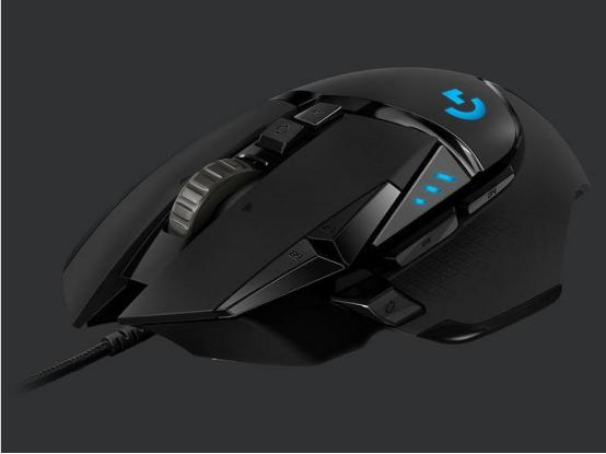 游戏鼠标:罗技G502 Lightspeed应该是目前最适合云电的鼠标了。